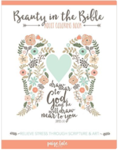 10 tools to help you read the Bible: adult coloring book