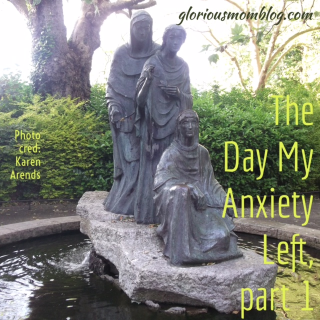 The Day My Anxiety Left: read about how I stopped stressing out so much. Check it out at gloriousmomblog.com.