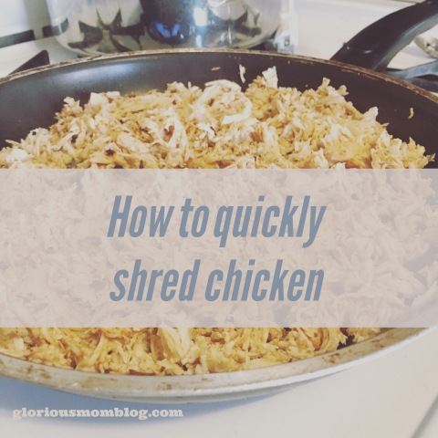 8  cooking hacks: quickly shred chicken