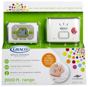 Buy this, not that: baby gear.  Check out my recommendations at the blog: gloriousmomblog.com.  Featured here: Graco baby monitor.